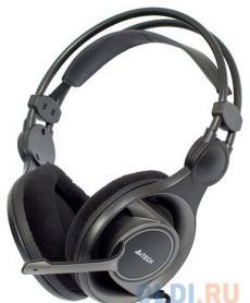 гарнитура  a4tech hs-100 black