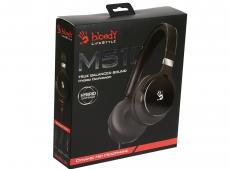 Гарнитура  A4Tech Bloody M510 black Проводные / Полноразмерные с микрофоном / Черный / 10 Гц - 22 кГц / 103 дБ / Одностороннее / Mini-jack / 3.5 мм