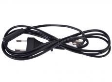 Кабель питания для ноутбуков, аудио/видео техники Gembird PC-184-VDE-0.5М, 0,5м, VDE, 2-pin, черный, пакет