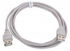 Кабель удлинитель USB 2.0 AM/AF Gembird/Cablexpert, 1.8м, пакет     CC-USB2-AMAF-6