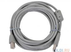 Кабель USB 2.0 AM/BM 5m Belsis, c ф/фильтром, BW1413