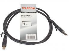 Кабель miniUSB 1.0м Telecom USB 2.0 AM/miniB 5P