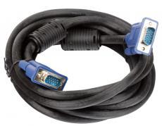 кабель монитор-svga card (15m-15m) vcom [vvg6448-3m] 3.0м 2 фильтра