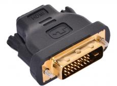 Переходник HDMI 19F - DVI-D 25M VCOM (VAD7818)