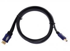 Кабель HDMI 19M/19M 3.0m ver:1.4 +3D/Ethernet Telecom [CG540D-3M] плоский