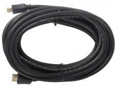 Кабель HDMI Gembird/Cablexpert, 7.5м, v1.4, 19M/19M, черный, позол.разъемы, экран, пакет  CC-HDMI4-7.5M