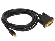 кабель-переходник mini-displayport---dvi_m/m 1,8м  telecom <ta665-1.8m>
