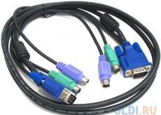 набор кабелей d-link dkvm-cb5 набор кабелей для dkvm - 2хps/2,1xvga, 5м