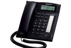 Телефон Panasonic KX-TS2388RUB ЖКИ, спикер, автодозвон, память 50