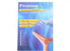 обложки прозрачные пластиковые а4 0.2 мм красные 100 шт. office kit (pra400200)