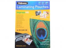 плёнка для ламинирования fellowes a4 fellowes, 100 мкм