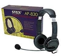 Гарнитура SVEN AP-830 с регулятором громкости