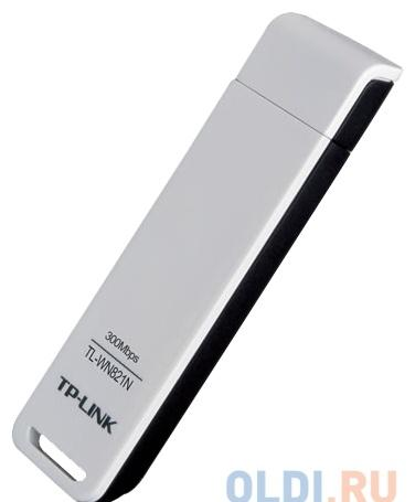 Беспроводной Wi-Fi адаптерTP-Link TL-WN821N 802.11bgn, 300Mbps, 2.4GHz, USB