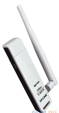 Беспроводной Wi-Fi адаптер TP-Link TL-WN722N 150Mbps, 2.4GHz, USB