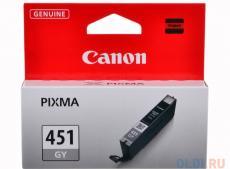 Картридж Canon CLI-451GY для MG6340, MG5440. Серый. 780 страниц.