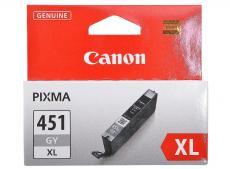 Картридж Canon CLI-451GY XL для MG6340, MG5440. Серый. 780 страниц.