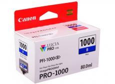 картридж canon pfi-1000 b для  ij sfp pro-1000 wfg. синий. 80 мл.