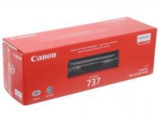 Картридж Canon 737 для MF211/212/216/217/226/229. Черный. 2400 страниц.