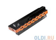 USB-концентратор Jet.A JA-UH28 на 10 портов USB 2.0, Hot Plug, блок питания от 220V в комплекте, чёрный