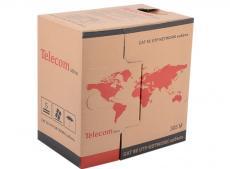 Сетевой кабель бухта 305м UTP 5e Telecom TUS 42040E/42048E/62040E 2 пары, омедненный