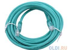 Сетевой кабель 15м UTP 5е, литой patch cord зеленый Aopen [ANP511_15M_G]