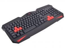 Клавиатура игровая Redragon Xenica проводная RU,черный, начального уровня