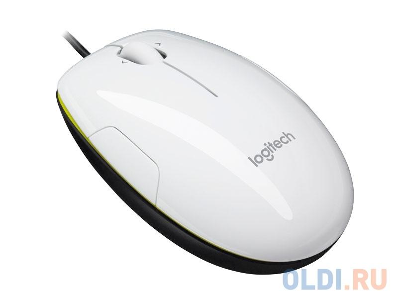 Мышь (910-003745) Logitech M150/LS1 Laser Mouse Coconut