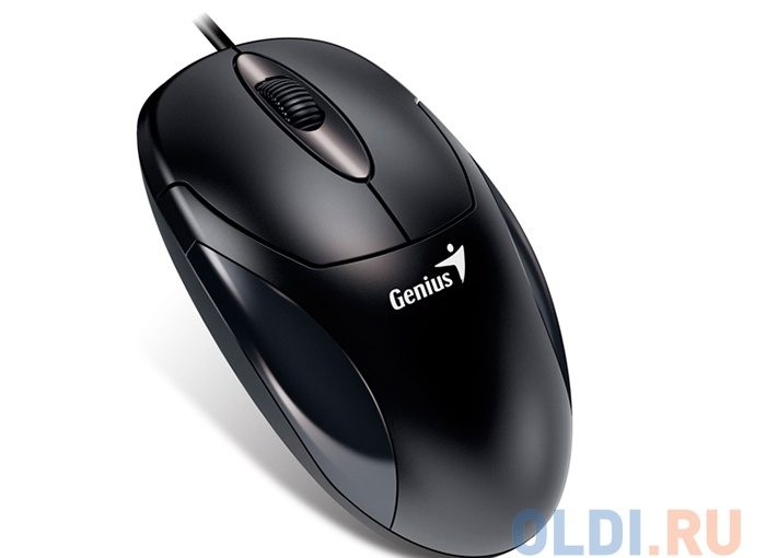 Мышь GENIUS Mouse XScroll V3 оптич., 1000dpi, 3 кнопки, USB, Black