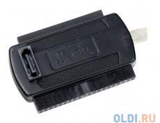 Контроллер USB 2.0 - IDE/SATA Orient UHD-103N black кабель-переходник для чтения/записи 2.5/3.5 HDD, БП, ret