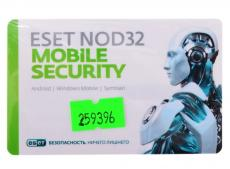 антивирус  eset nod32 mobile security - лицензия на 1 год на 1 мобильное устройство, card (nod32-enm2-ns(card)-1-1)