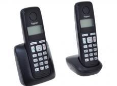 Телефон Gigaset А220 Duo Black (DECT, две трубки)
