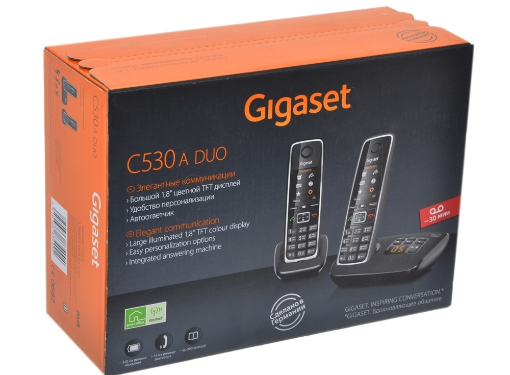 Телефон Gigaset C530A DUO
