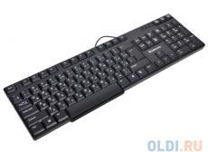 Клавиатура Defender Accent 930 B (Black), USB влагоустойчивая, компактная