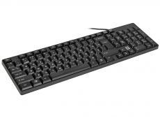 Проводная клавиатура DEFENDER Accent SB-720 RU,черный,компактная DEFENDER