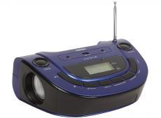 Аудиомагнитола BBK BS07BT темно-синий