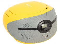 Аудиомагнитола BBK BX195U желтый