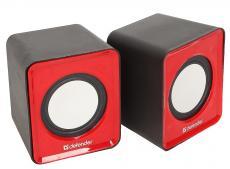 Колонки DEFENDER SPK 22 красный 5 Вт, питание от USB