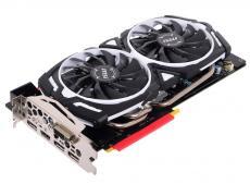 Видеокарта 8Gb (PCI-E) MSI GTX 1070 ARMOR 8G OC (GTX1070, GDDR5, 256bit, HDCP, DVI, HDMI, 3*DP, Retail)