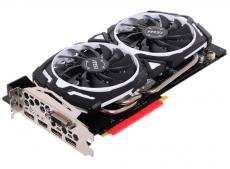 Видеокарта 8Gb (PCI-E) MSI GTX 1080 ARMOR 8G OC (GTX1080, GDDR5X, 256bit, HDCP, DVI, HDMI, 3*DP, Retail)