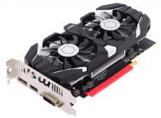 Видеокарта MSI GeForce GTX 1050 Ti 4GT OC 4Gb 1341Mhz NVIDIA GTX1050 Ti/GDDR5/7008Mhz/128 bit/PCI-E/DVI,DP,HDMI