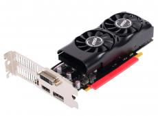 Видеокарта MSI GeForce GTX 1050 Ti 4GT LP 4Gb 1290Mhz NVIDIA GTX1050 Ti/GDDR5/7008Mhz/128 bit/PCI-E/DVI,DP,HDMI