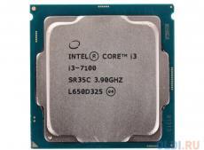Процессор Intel Core i3-7100 OEM TPD 51W, 2/4, Base 3.9GHz, 3Mb, LGA1151 (Kaby Lake)