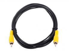 Кабель соединительный RCA (M) - RCA (M) черный 3m, Telecom (TAV4158-3M)