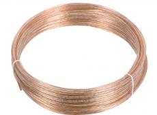 акустический кабель cablexpert cc-tc2x0,5-10m, прозрачный, 10 м, бухта
