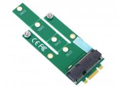 Переходник SSD NGFF(M.2) - mSATA, для подключения mSATA диска к разъему NGFF, ORIENT C293S