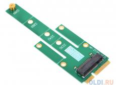 Переходник SSD mSATA - NGFF(M.2), для подключения NGFF диска к разъему mSATA, ORIENT C294S