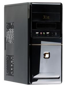 Корпус 3Cott 4009 ATX, 450Вт, USB Audio черный.