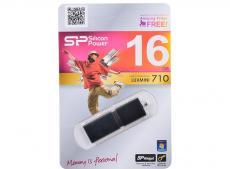 USB флешка Silicon Power LuxMini 710 Black 16GB (SP016GBUF2710V1K)