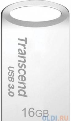 Флешка USB 16Gb Transcend Jetflash 710 TS16GJF710S серебристый