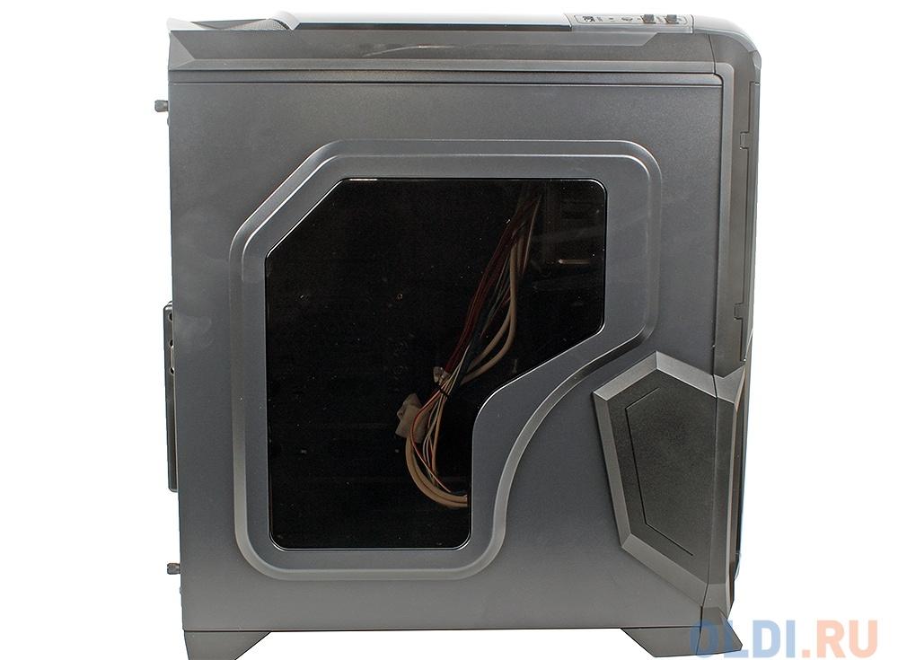Корпус Aerocool BattleHawk Black , ATX, без БП, окно, SD-картридер, контроллер вентиляторов, 1х USB 3.0, 2x USB 2.0